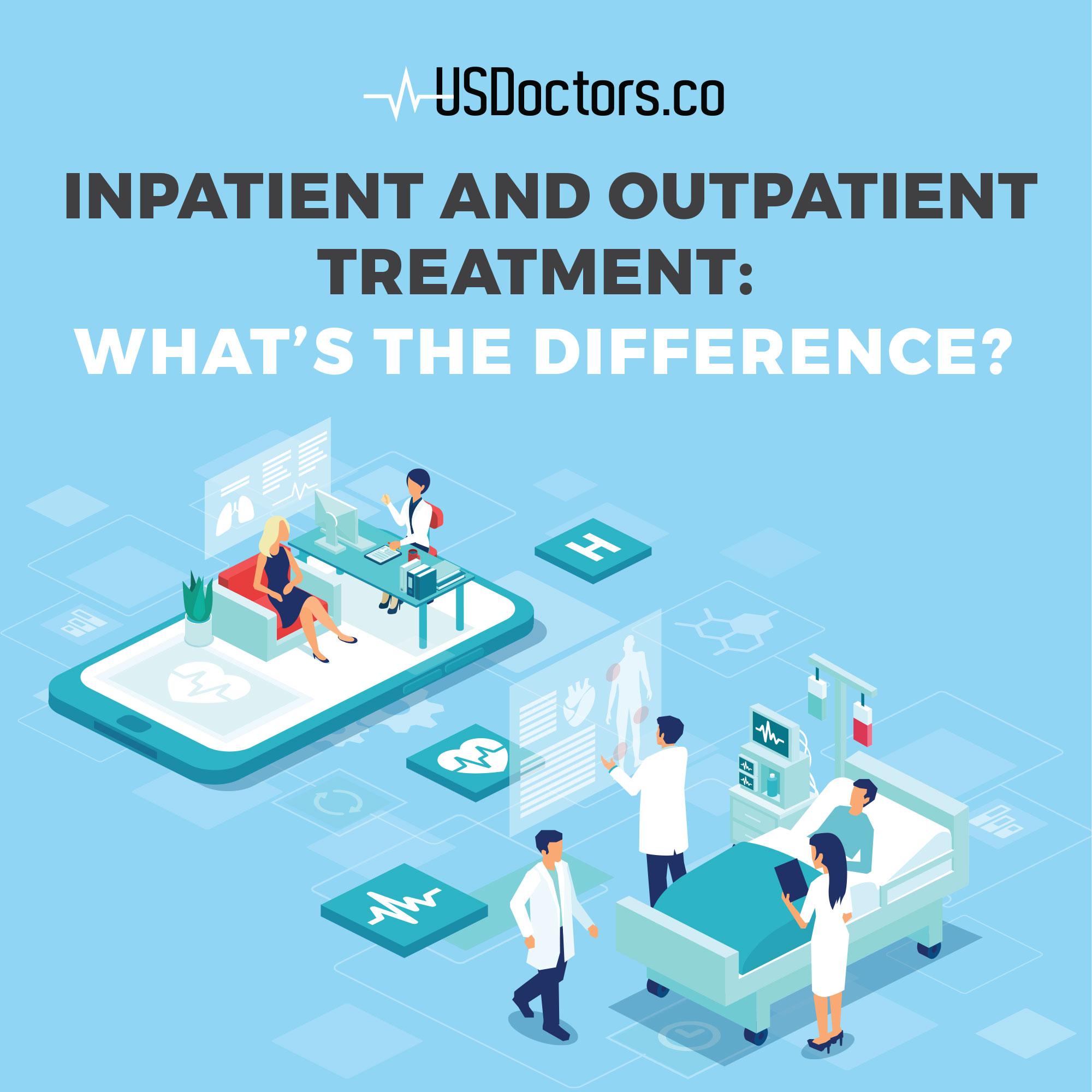inpatient and outpatient treatment